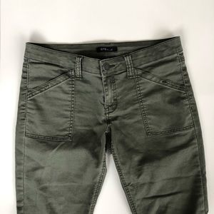 Nordstrom STS Blue Army Green Skinny Jeans